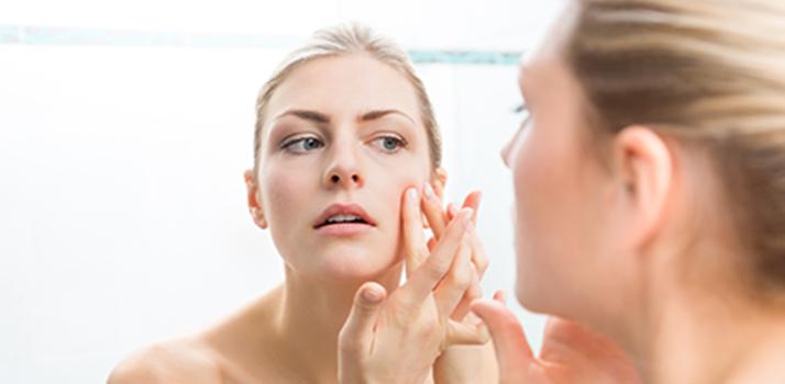 problèmes d'acné