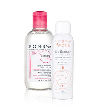 Démaquillage et nettoyage dermatologiques
